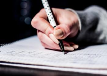 まずは自分のことをノートに書き出す!